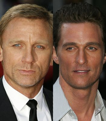 Hot bods, smouldering good looks and sizzling screen presence, we're feeling very spoilt at the moment with Daniel Craig and Matthew McConaughey both appearing in starring film roles on the big screen. Trouble is we can't decide who we fancy the most, so we're rating their assets and seeing how the ice cool Brit and the beach buff American battle it out. Which one will get your vote?  <br />