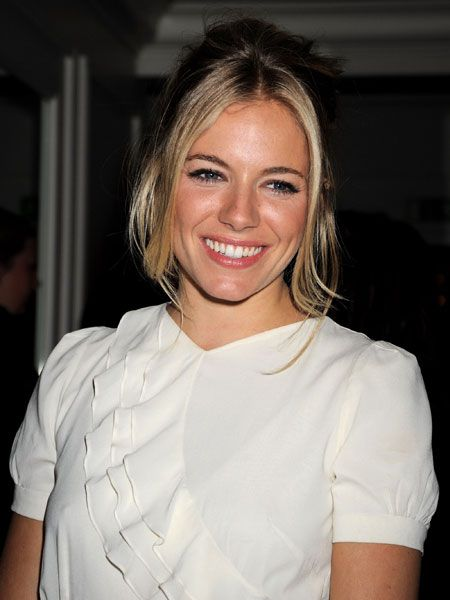 <p>Sienna shows how a natural smile can go much further than lashings of lippy</p>       <br />