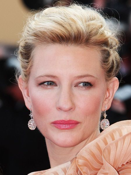 This season's makeup is all about achieving a flawless flush with fresh fruity colours. As these cheeky ladies demonstrate, it's all about getting the glow without looking tan-glowed <br /><br />Left: Cate Blanchett proves matching the hues in her gown to those in her cheeks is a seriously good look<br /><br />