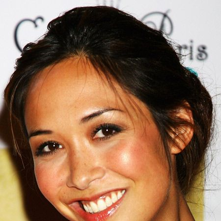 Don't Myleene's peachy cheeks look good enough to eat?  <br />