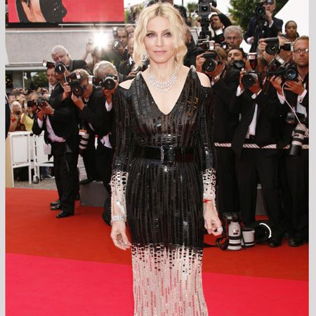 Madonna stunned in sequined Chanel Couture and Chopard jewellery at the premiere of her new documentary<br />