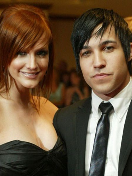 Unlike Ashlee Simpson and Pete Wentz...  <br />