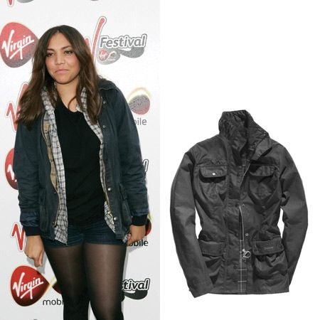 Celebs have gone crazy for the waxed Barbour jacket and for once it's a trend that's actually practical. <br /><br />It'll keep you chic yet cosy when you're camping and looks easy peasy cool over a pretty vintage dress with wellies.<br /><br />Channel Miquita Oliver's low key cool in this Trudy Barbour jacket, £189, 0191 427 4210<br /><br />