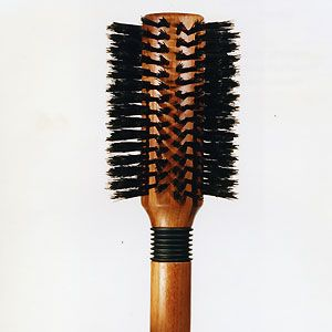 """Another household object that doubles as a surprisingly good sex toy. A hairbrush can be used to get his and your nerve endings standing to attention before you launch into actually touching each other, skin on skin. """"Get naked, and very gently brush his body,"""" says Green. """"Start with his arms, shoulders, chest, then work your way up from his feet, legs. Then finally work on his abdomen and thighs, finishing on his testicles. This gets every square inch of his skin excited, so that when you throw the hairbrush across the room and explore his body with your fingers, tongue and lips, he'll explode with pleasure."""" But not before he does the same for you!"""