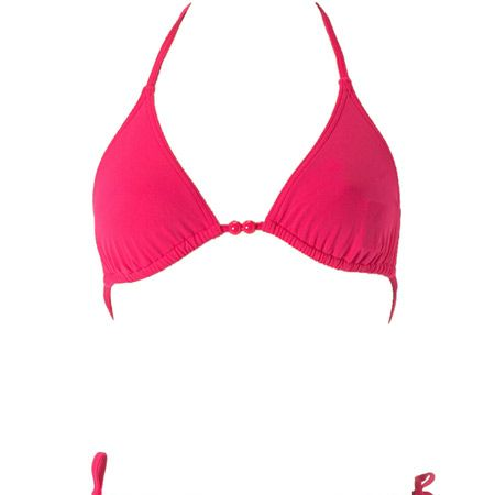 """Super stylist Gok Wan thinks 'Petite Princesses' will benefit from a bold bikini such as this one:<br /><br />""""Colour compliments your natural body shape if you are in proportion - just keep the colour bold and the same up top as down below. If you have a smaller chest, you can always change the top for a patterned version.""""<br /><br /><strong>Hot pink bikini top, £5 and bottoms, £5, both <a target=""""_blank"""" href=""""http://www.dorothyperkins.com/webapp/wcs/stores/servlet/ProductDisplay?catalogId=20552&storeId=12552&categoryId=119924&parent_category_rn=116474&productId=495009&langId=-1"""">Dorothy Perkins</a></strong><br /><br />"""
