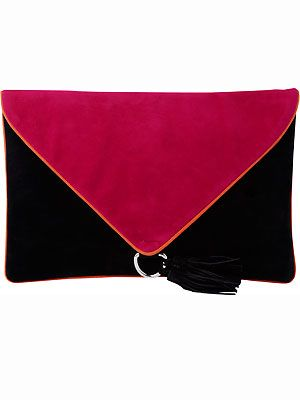 Let's take a moment to salute the geniuses at Peacocks! A colour-blocked clutch for just, wait for it - eight pounds? Get yours before the bosses change their minds!