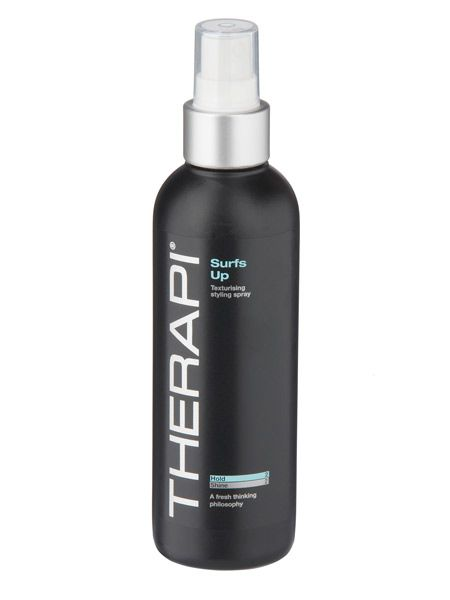 "<p>Therapi Surf's Up Texturising Styling Spray, £8.49, - gutsy styling spray that creates texture and grip and makes beach hair styling a breeze even in staying-in weather.  </p><p> </p><p><a target=""_blank"" href=""http://www.ore-anbeauty.co.uk/therapi/"">www.THERAPIBeauty.co.uk</a>, 01484 400818 <br /></p>"