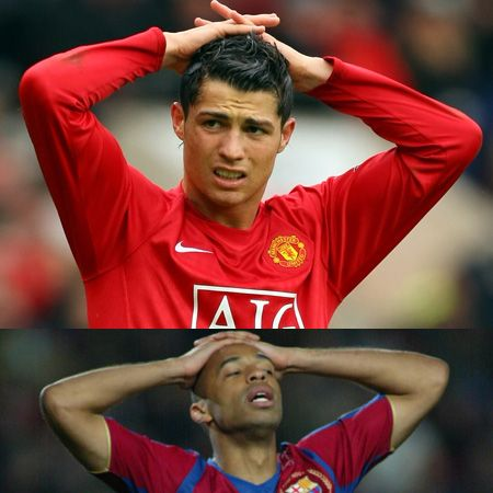 <p>Striking the same pose after similar near misses&#x3B; which one would you want to cheer up?</p>
