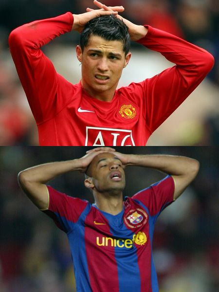 <p>Striking the same pose after similar near misses; which one would you want to cheer up?</p>