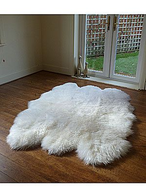 "<p>Steer clear of stuffed toys, and get him an oversized sheepskin rug. Why? Because he won't be able to resist getting naked on it with you! The Natural Sexto Fleece is huge – 185cm by 145cm – giving you plenty of room to roll around and the fleece is so thick it'll keep you nicely warm while you do your thing. We love this rug in natural, but it's also available in black. <br />Sheepskin, £239.99, 1.45 metres by 1.85 metres from <a href=""http://www.rughouse.co.uk/large-sheepskin-rugs-c67/sheepskin-rug-black-sexto.html""%20http://www.rughouse.co.uk/large-sheepskin-rugs-c67/sheepskin-rug-black-sexto.html"">Rug House</a><br /> </p>"