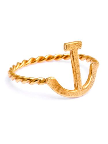 """<p>For the friend that's been there through thick and thin, show her that she's your 'first mate' with this super-cool anchor ring from jeweller Daisy Knights – a Cosmopolitan Beauty and Fashion Entrepreneur award winner.</p> Ring, £134, <a href=""""http://www.daisyknights.com/"""">Daisy Knights</a>"""