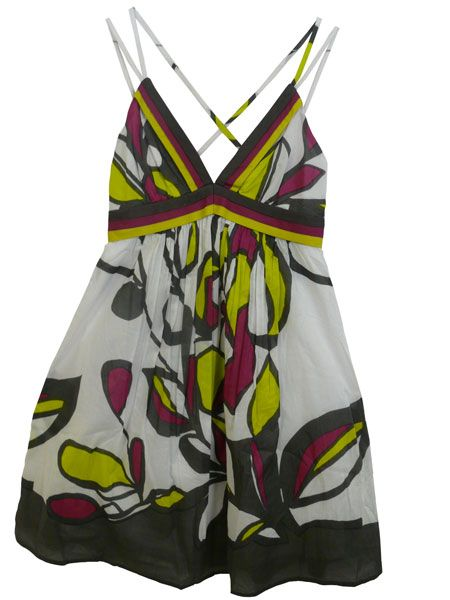 <p><br />A versatile sun dress that will take you from beach to bar is an absolute must. Layer this pretty printed number over a bikini by day, or wedge it up by night for cocktails and clubbing</p>    <p> <br />Joy, £60, 020 7326 5700</p>