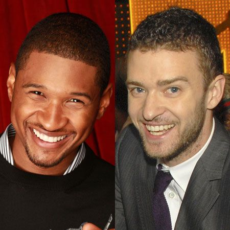 <p>Their gorgeous grins are enough to turn us into giggly girls. Is it Justin or Usher who gets you smiling?</p>