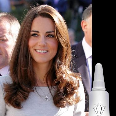 """<p>How did Kate decide to prep her skin ahead of her royal wedding? Not by drenching her body in diamonds and caviar but she simply popped to her local beauty salon and had a Crystal Clear Oxygen Therapy facial. the brightening treatment uses a jet system of oxygen to deliver anti-ageing serums into the deeper layers of the skin to stimulate circulation. The result? plumped, glowing skin fit for a queen!</p><p>£110, <a href=""""http://crystalclear.co.uk/Products/Crystal_Clear_Oxygen_Serums.aspx"""" target=""""_blank"""">crystalclear.co.uk</a></p>"""