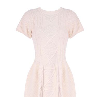 """<p>This gorgeous skater dress is super-warm, but the fit-and-flare style will be great for curves and stop you from feeling like a shapeless lump. Add a bright belt and you'll be ready for some winter fun!</p> <p>Dress, £65, <a href=""""http://www.pretaportobello.com/"""">Pret a Portobello</a></p>"""