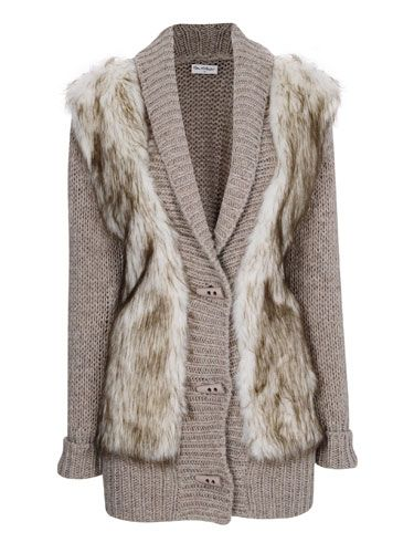 "<p>On those sunny winter days, there's nothing quite as stylish as bundling up in an oversized cardigan - and with a luxe faux fur front, this cosy number is as stylish as they come.</p> <p>Cardigan, £50, <a href=""http://www.missselfridge.com/"">Miss Selfridge</a></p>"