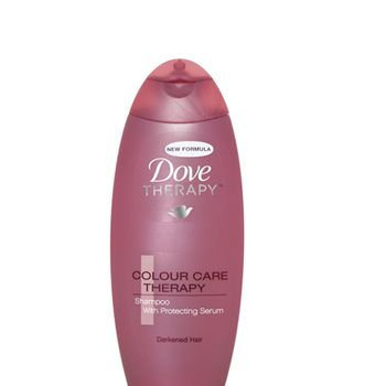 <p> </p><p>Dove Colour Care Therapy Shampoo for Darkened Hair,  £1.99 - 85% of UK women have damaged their hair in the pursuit of perfection, this caring cleanser targets the bottle brunettes among them.<br /></p>