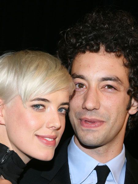 <p>Agyness Deyn and Albert Hammond Jr are rumoured to be engaged after just two months together, with Agyness sporting a huge diamond ring on her wedding finger</p>