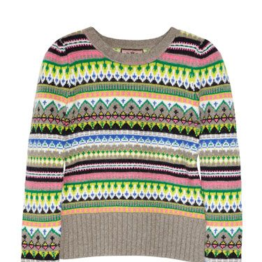 """<p>Statement knits are one of the biggest trends this winter, making this snug neon number a fab investment buy.</p><p>Jumper, £160, <a href=""""http://www.net-a-porter.com"""">Juicy Couture at net-a-porter.com</a></p>"""