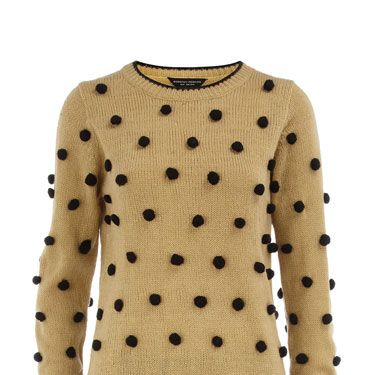 """<p>Is your Christmas wardrobe looking a bit dull? Liven things up with this fun jumper covered in playful pom poms.</p><p>Jumper, £32, <a href=""""http://www.dorothyperkins.com"""">dorothyperkins.com</a></p>"""