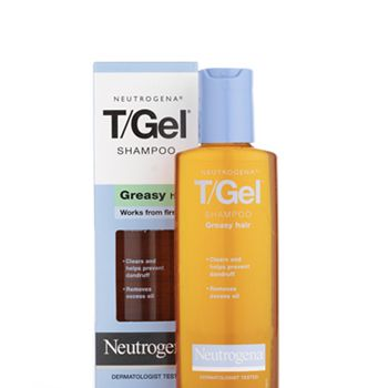 Neutrogena® T/Gel® Shampoo for Greasy Hair, £4.39<strong> - </strong>mops up excess grease and helps<strong> </strong>relieve the itching and flaking of dandruff, leaving hair and scalp clean and healthy.