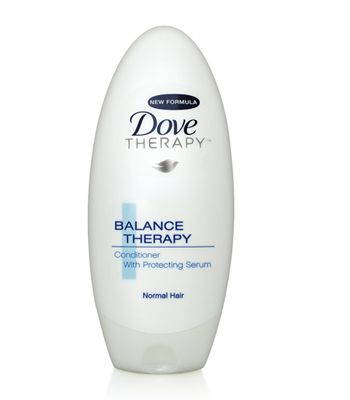 Dove Balance Therapy Conditioner for Normal Hair, £1.99<strong> - </strong>formulated with a protecting serum to shield crowning glories from daily damage without weight. Promotes naturally balanced, beautiful hair.