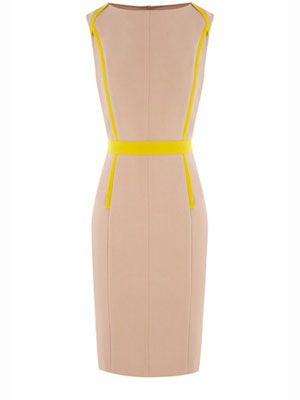 """<p>My oh my! Impress all in the workplace without trying too hard with this chic pencil dress from Oasis. We're sure your probationary period will end pretty soon after wearing this!</p> <p>£65, <a href=""""http://www.oasis-stores.com/Tipped-Pencil-Dress/Dresses/oasis/fcp-product/3470076509"""">Oasis</a></p>"""