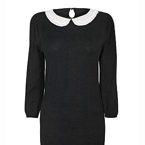 """<p>Peter Pan collars have been huge this season especially as a smart/casual option. But who says you can't wear one in the boardroom too?This particular version from Next has a gorgeous beaded collar - we love attention to detail </p><p>£22.99, <a href=""""http://www.newlook.com/shop/womens/dresses/ponte-bodycon-dress_244979230"""">Next</a></p>"""