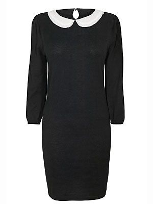 """<p>Peter Pan collars have been huge this season especially as a smart/casual option. But who says you can't wear one in the boardroom too?This particular version from Next has a gorgeous beaded collar - we love attention to detail </p> <p>£22.99, <a href=""""http://www.newlook.com/shop/womens/dresses/ponte-bodycon-dress_244979230"""">Next</a></p>"""
