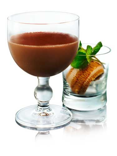 <p>Save room after Christmas dinner to indulge in this sweet, chocolate delight, which includes all of your most festive spirits. Add 30ml of Russian Standard Vodka, 12.5 ml of Amaretto and 12.5ml of Baileys into a shaker. Add 1 spoon of cherry jam, 1 spoon of vanilla syrup, 1 spoon of cocoa powder and a whole, raw egg. Shaker over ice and strain into a glass.</p>