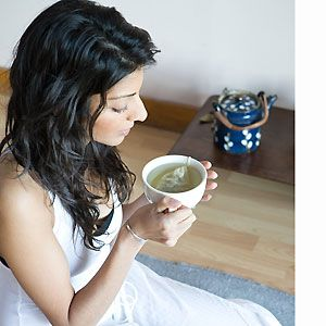 """<p><strong>Say no to: Coffee</strong></p><p>As a pick-me-up coffee is great, but at this time of year green tea is better. """"Green tea contains powerful antioxidants called catechin polyphenols,"""" says Holland & Barrett's nutritionist, Kate Butler. """"One of these antioxidants, epigallocatechin gallate (or EGCG for short), has been found to stimulate the metabolism and accelerate weight loss.""""  In addition, EGCG stimulates thermogenesis. """"Thermogenesis is the production of body heat to burn fat.""""<br />Don't want to drink green tea? Take a supplement instead: <a href=""""http://www.hollandandbarrett.com/"""" target=""""_blank"""">Holland & Barrett's</a> Anatherm (£24.99 for 90 capsules) contains green tea extracts as well as other ingredients such as chromium to help prevent festive floppy belly. """"Chromium is needed for the metabolism of sugar and without it insulin is less effective in controlling blood sugar levels,"""" says Butler. """"This means that it is harder to burn off your food as fuel and more may be stored as fat.""""<br /><strong><br /></strong></p>"""