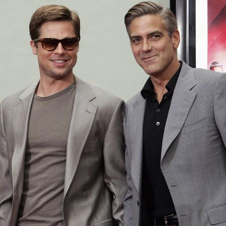 <p>The sexy mates are equally sharp dressers. Whose suit style do you rate?</p>