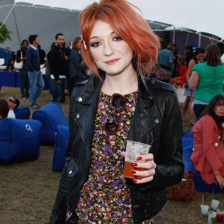 <p>This transitional trend is taking the A-list from summer through to autumn. Be they biker or bomber, cropped boxy jackets are <em>the</em> style to be seen in this season as these stars show, worn over pretty frocks and over-sized tees</p>    <p> <br />Left: Nicola Roberts toughens up a tea dress with a black biker jacket</p>