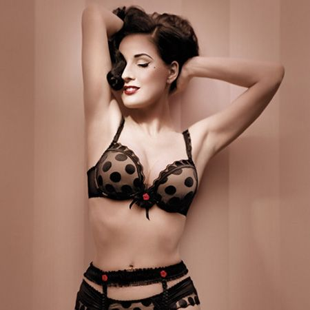 <p>There's nothing like some seriously sexy smalls to seduce your man with in the bedroom. From amazing lace to bow belles, here's the hotter-than-hot underwear he'll want to get under</p>  <p> </p>  <p>Left: Dita Von Teese models Spot-Teese from her new collection for Wonderbra</p>