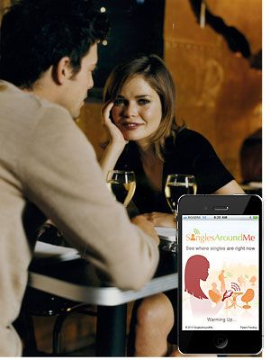 """<p>Forget online dating – when it comes to finding a man, apps are the future. For exciting dating encounters try Singlesaroundme (13.99, or free for the Lite versions) and Lovestruck, which is a dating site that alerts you when another member is in your vicinity. Very exciting! Just remember to tread carefully when using guy-finder apps - <a href=""""http://www.zoosk.com/safety"""" target=""""_blank"""">Zoosk.com/safety</a> has all you need to know about staying safe while searching for a new guy...<br /><br /></p>"""