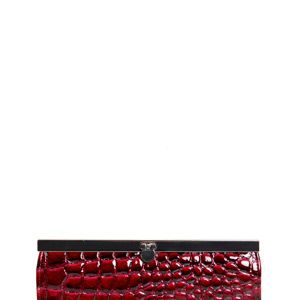 """<p>Perfect with any outfit, this feminine, structured purse adds a dose of chic to whatever you are wearing. Popped inside an equally chic handbag you're set to go in the style stakes!</p><p>Available in three rich colours, purple, black and red.</p><p>£6, <a title=""""Adele Scaled Effect Patent Framed Purse"""" href=""""http://www.boohoo.com/restofworld/collections/vintage-affair/icat/vintage-affair/new-in/adele-scale-effect-patent-framed-purse/invt/azz70817%20"""" target=""""_blank"""">boohoo.com</a></p>"""