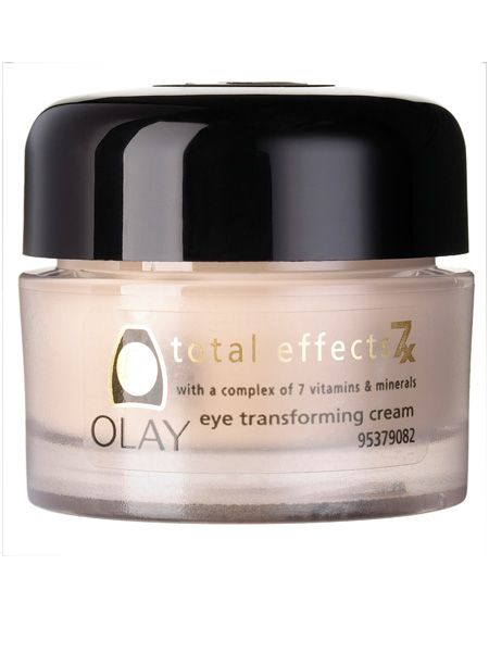 <br />Olay Total Effects 7X Transforming Eye Cream, £14.99<br />