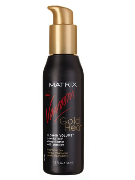 <br />Matrix Vavoom Gold Heat Blow-In Volume, £9.95<br />