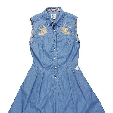 <p>Get your yee-haw on and snap up this delightful denim dress from Firetrap. A word of warning: avoid the head-to-toe cowgirl look by swerving the Stetson and teaming with flatforms instead.</p>
