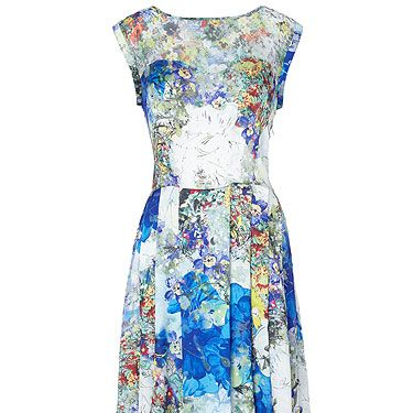 """<p>Remember when you were little and all you wanted to do was dress up in your Mum's gorgeous clothes? We do. And, to be honest, if we found this stunner in our Mum's wardrobe today, we'd probably do it all over again! There's nothing like a deluxe 50s midi to inject some serious style credentials into anyone's fashion CV.<br /><br />Lotus Dress, £105, <a title=""""Full Circle UK"""" href=""""http://www.fullcircleuk.com"""" target=""""_blank"""">Fullcircleuk.com</a></p>"""
