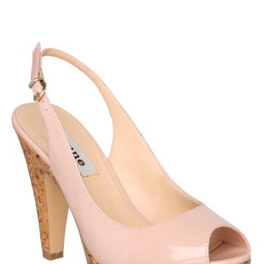 <p>Pastels are big news this season so make sure your footwear is fashion-forward with these pretty pink cork-soled sling backs.</p><p><br />Dune, £75</p>