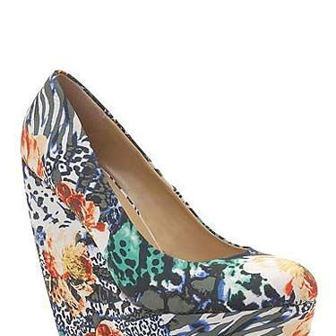 """<p>US shoe brand Call It Spring has arrived at Debenhams and we're as pleased as punch! There's loads of styles to choose from, and the best bit? They're all under £50! We love this floral print pair of wedges.</p><p> </p><p>Call It Spring print wedges, £50, <a title=""""Debenhams"""" href=""""http://www.debenhams.com/webapp/wcs/stores/servlet/prod_10001_10001_053010647045_-1?breadcrumb=Home~Women~Shoes+%26amp%3B+boots#"""" target=""""_blank"""">Debenhams</a></p>"""