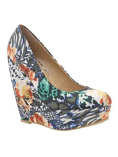 "<p>US shoe brand Call It Spring has arrived at Debenhams and we're as pleased as punch! There's loads of styles to choose from, and the best bit? They're all under £50! We love this floral print pair of wedges.</p> <p> </p> <p>Call It Spring print wedges, £50, <a title=""Debenhams"" href=""http://www.debenhams.com/webapp/wcs/stores/servlet/prod_10001_10001_053010647045_-1?breadcrumb=Home~Women~Shoes+%26amp%3B+boots#"" target=""_blank"">Debenhams</a></p>"
