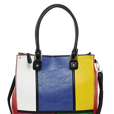 """<p>We like this shopper. It reminds us of a Rubik's cube from the 80s, but more importantly it totes (geddit?) taps into the colour blocking trend that's so hot right now. Bag it, baby!</p><p>Aldo Swapp Shopper, £50, <a title=""""Aldo"""" href=""""http://www.asos.com/ALDO/ALDO-Swapp-Shopper/Prod/pgeproduct.aspx?iid=1971690&cid=6992&sh=0&pge=0&pgesize=-1&sort=-1&clr=Multi"""" target=""""_blank"""">Asos.com</a></p>"""