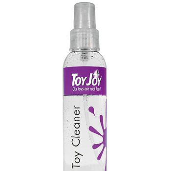 "<p>You can buy specially designed toy cleaners (try SexToys Cleaner, £4.95, <a target=""_blank"" href=""http://www.sextoys.co.uk"">www.sextoys.co.uk</a>) containing anti-bacterial agents that you spray on toys after use and then rinse off. Another way to keep toys hygienic is to dress them in condoms before play. Kim and Aggie would definitely approve.</p>"