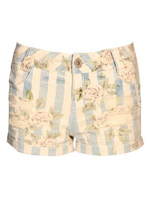 "<p>Designed with an on-trend washed out finish, these shorts have a fashionably high cut and show off toned legs. Balance out the ultra feminine feel with a simple shirt or white tee.</p> <p>£20, <a href=""http://www.boohoo.com/collections/retro-glamour/icat/retro-glamour/"" target=""_blank"">boohoo.com</a></p>"