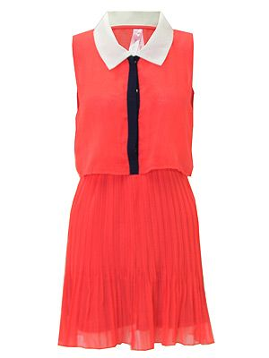 """<p>Looking for the perfect outfit for a summer festival? You're in luck, this Pop Couture frock is what we'll be wearing, but with a tough biker jacket, a pair of ankle boots and a chunky bangle<br /><br />Dress, £21, <a title=""""http://www.popcouture.co.uk/collection/eleora-pleated-layer-over-dress-in-coral-p-2774.html"""" href=""""http://www.popcouture.co.uk/collection/eleora-pleated-layer-over-dress-in-coral-p-2774.html"""" target=""""_blank"""">PopCouture.co.uk</a><br /><br /></p>"""