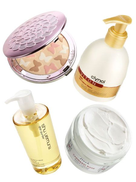 <p> </p><p>Tess Daly sneaked into Cosmo's beauty cupboard and came out with her favourite new products... </p>