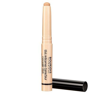 """<p>Bourjois' clever Correcting Concealer Stick – a combination of 2 colour correcting pigments - can be used before or after foundation, and over dark circles and blemishes. And what's more, the dinky handbag size makes it ideal for emergency retouches during the day.</p><p>123 Concealer Stick, £7.49, <a title=""""Bourjois.co.uk"""" href=""""http://www.bourjois.co.uk"""" target=""""_blank"""">Bourjois</a></p>"""