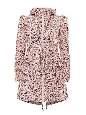 db988d6254ea  p Look super stylish in the good ol  April showers with this floral